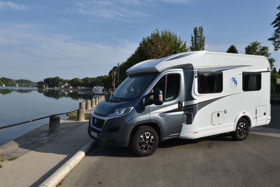 Perfect for singles or couples, the Knaus 550 MF motorhome