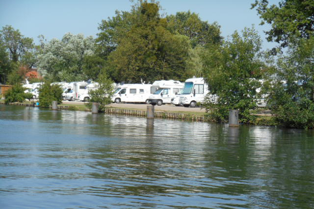 There are plenty of places to park up overlooking water in a motorhome in The Jura regions of France