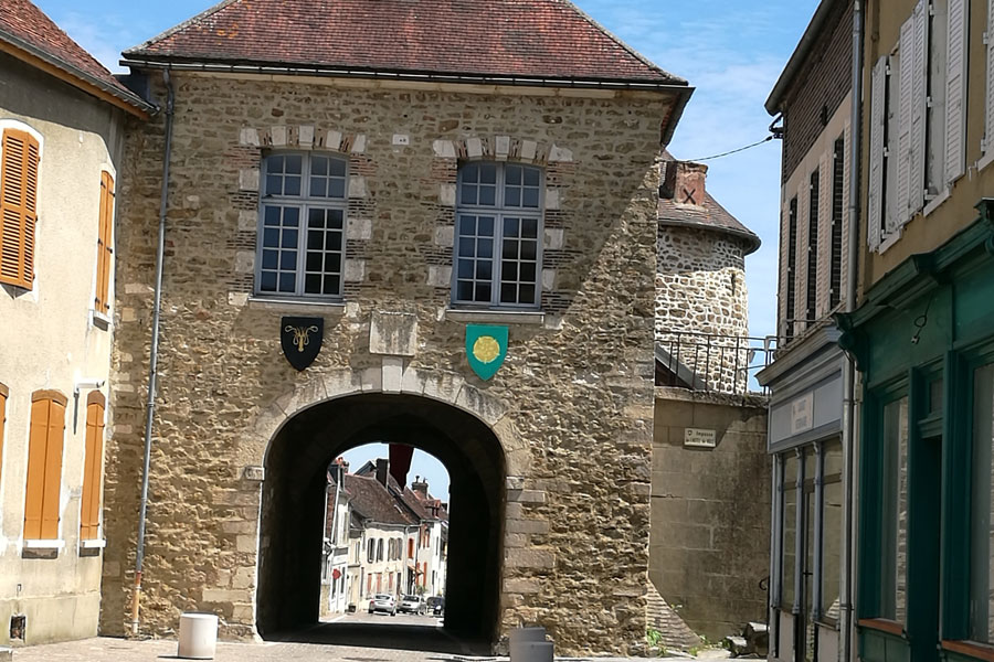 More historical architecture in the ancient village of Ervy-le-Chatel