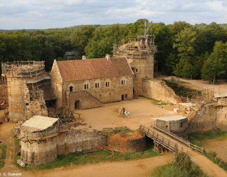 The Medieval Castle of Guédelon is really taking shape