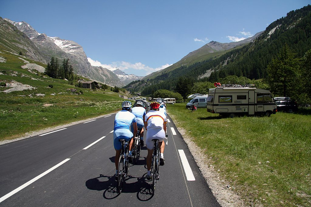 Campervan hire for the Tour de France