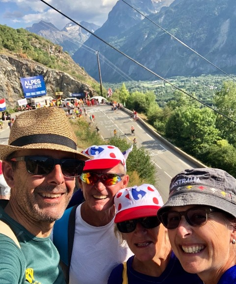Drive, hike or cycle.  Get in position early for the 2019 Tour de France mountain stages