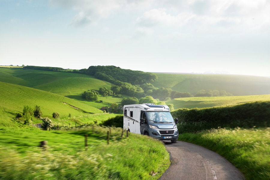 If you hire a motorhome from France Motorhome Hire, you pick up less than an hour by train from Paris but the roads around us look like this