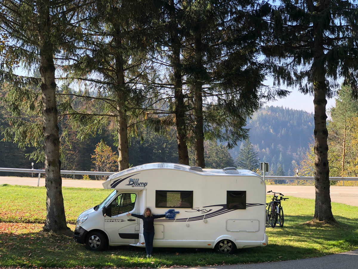 Best photo featuring a motorhome.The France Motorhome Hire Photo Competition 2018