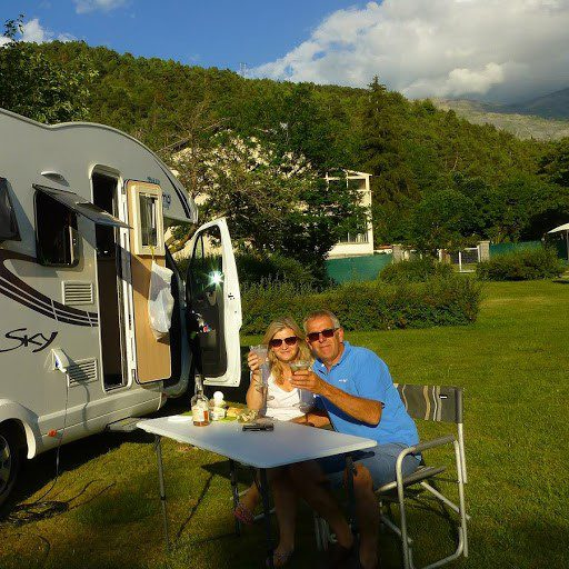Best romantic photo.The France Motorhome Hire Photo Competition 2018
