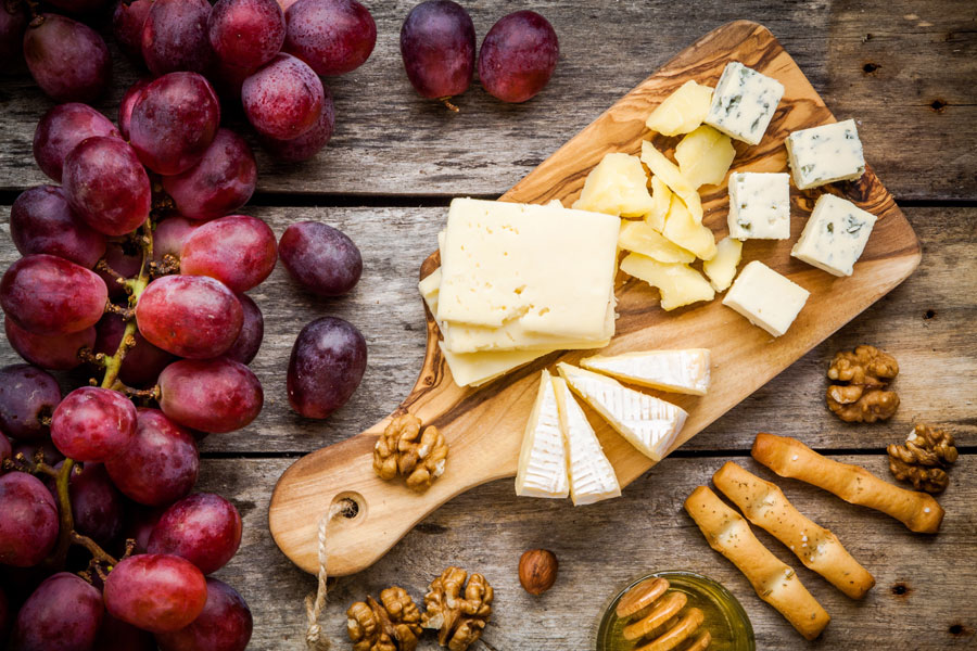 Choosing three cheeses from a selection of hundreds in France is tricky but you are pretty much guaranteed a good selection wherever you travel to
