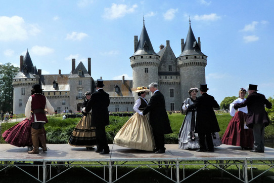 Sully sur Loire is one the lesser known chateaux in our area but well worth a visit