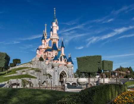 Visit Disneyland Paris in a Motorhome