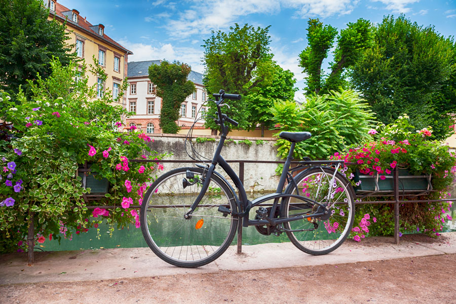 Cycling through France in the spring weather is a joy so take avantage of the France Motorhome Hire spring offer and get free bike hire