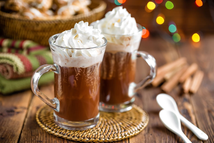 Enjoy the best Chocolat Chaud Chantilly you will ever have in Belgium this spring