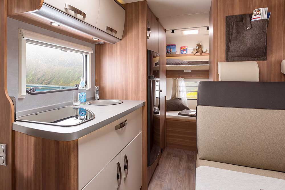 Campervan hire is perfect for attending events like the F1 grand prix