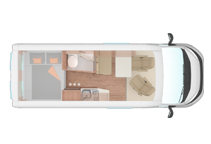 Duo Campervan layouts