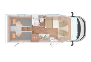 Duo Plus Motorhome layouts