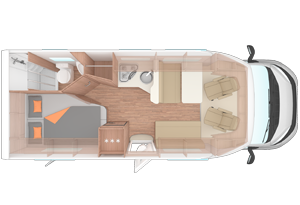 Familiy traveller plus Floor Plan