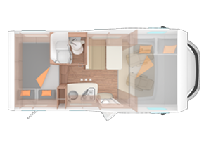 Family Traveller Motorhome layouts