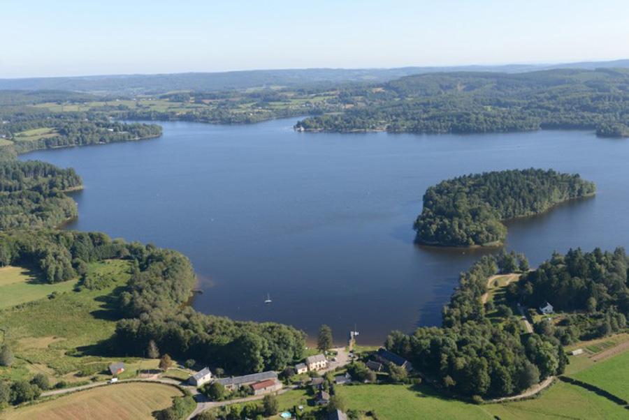 Le lac des Settons, Morvan Natural Regional Park