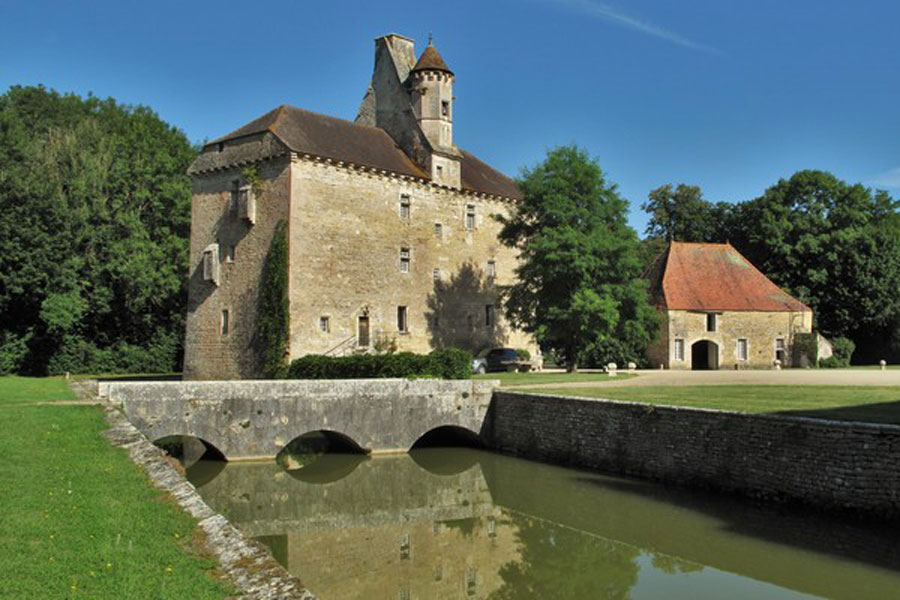 Thenissey, overnight motorhome stop - Burgundy Driving Route
