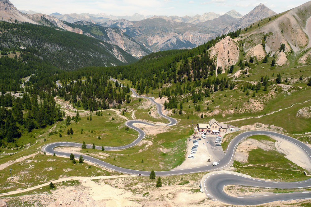 The Col d'Izoard pass ©Zehnfinger