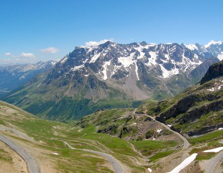 Great Alpine Road Driving Route
