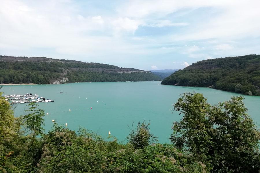 Lac de Vouglans at Camping du Surchauffant