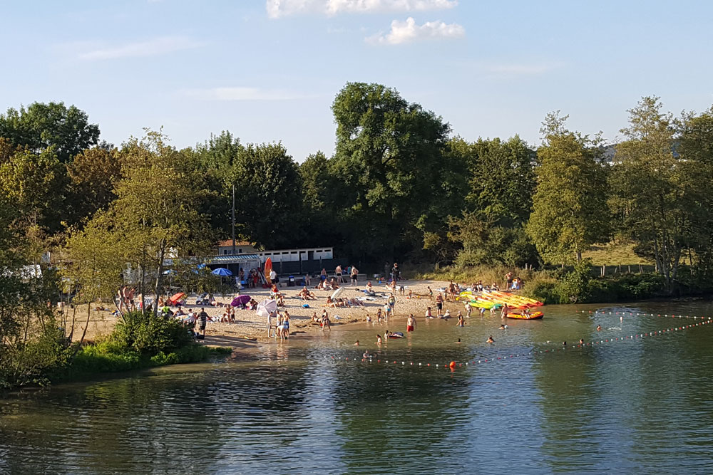 Camping des Iles campsite is very motorhome friendly