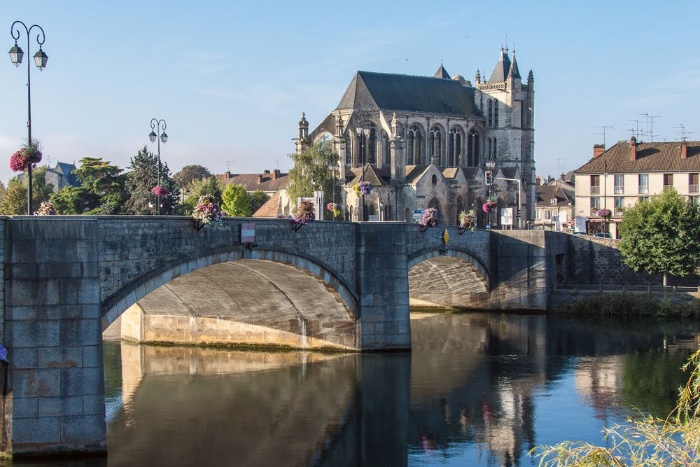 Montereau stop on our 3-night Campervan Itinerary near Paris