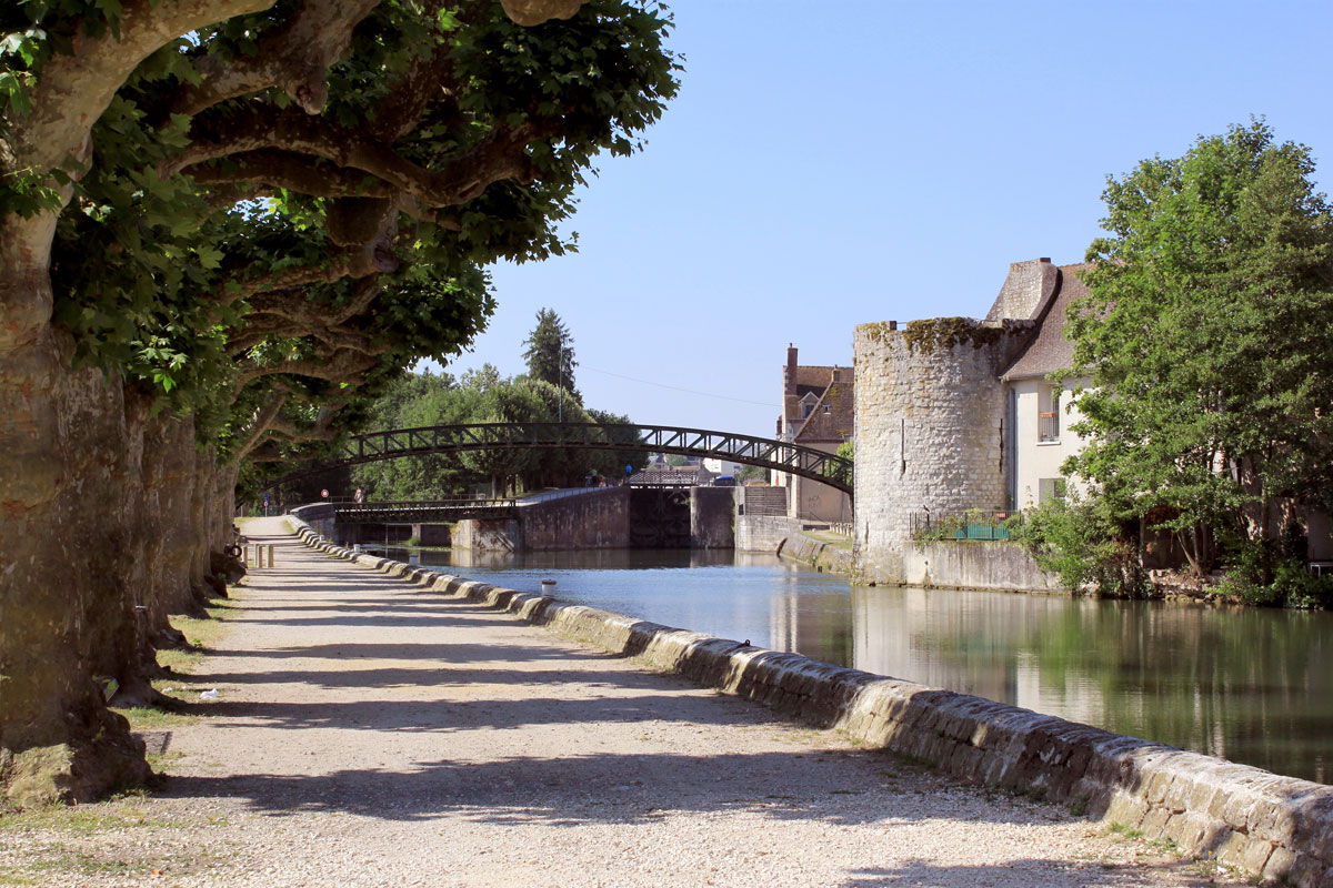 Montargis stop on our 3-night Campervan Itinerary near Paris