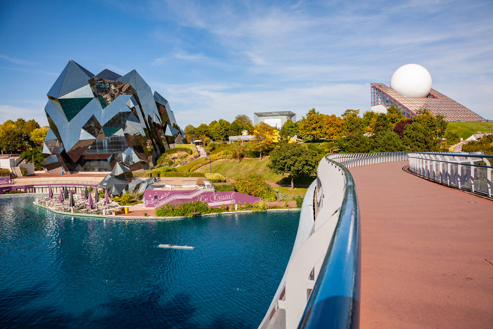 Futuroscope in Poitiers is great for a family day out