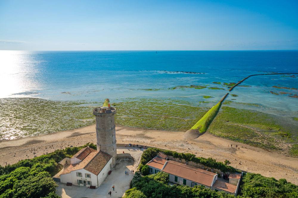 The small island of 'Île de Ré' is a stunning stop on our Tour de France 2020 Campervan Itinerary