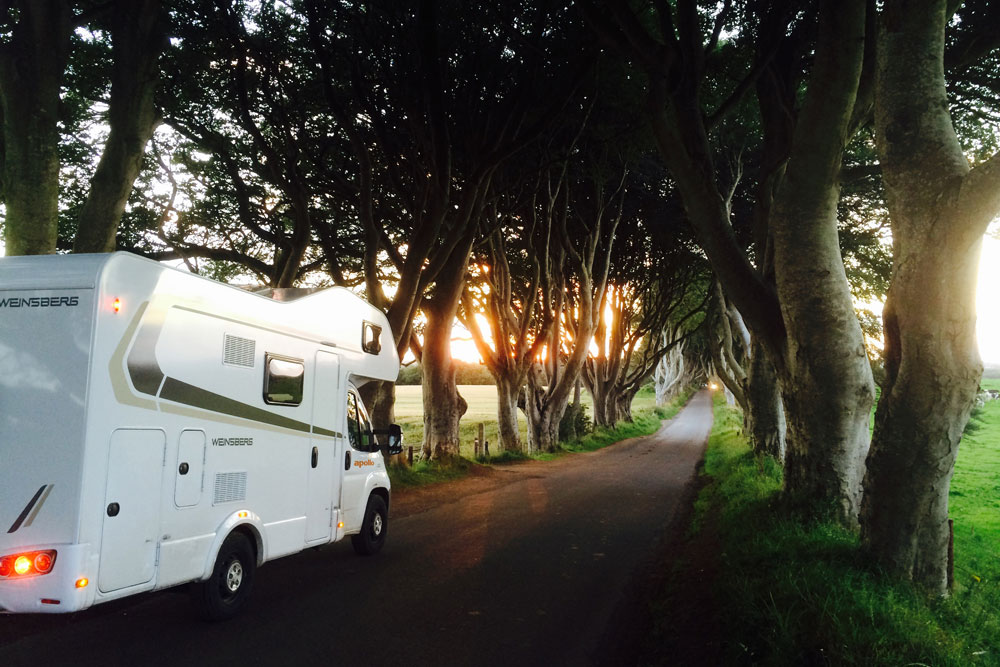 long term campervan hire in france