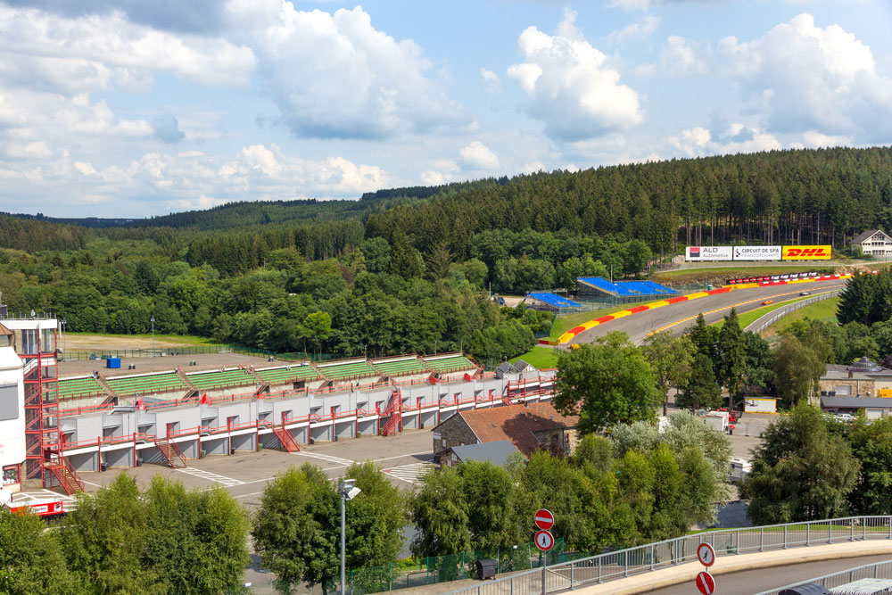 Spa Francorchamps F1 Circuit