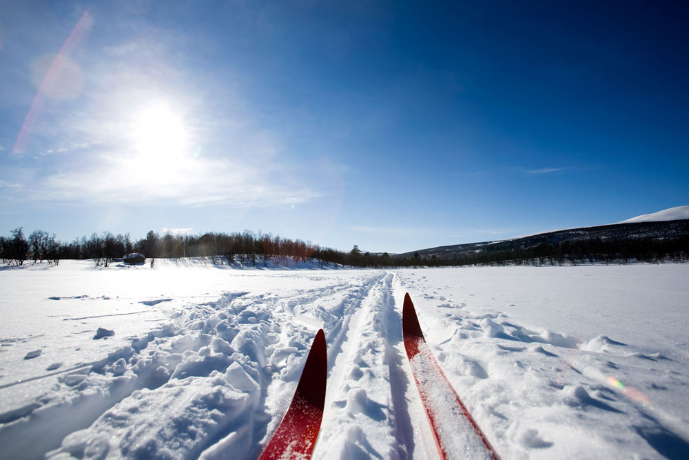 Skiing holiday in France with a Motorhome