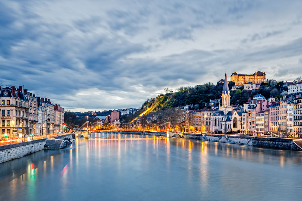 Visit the city of Lyon on your campervan hire trip